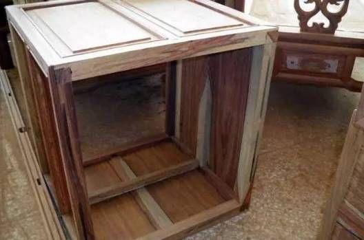 1千块和1万块的红木家具易容差别家具图片