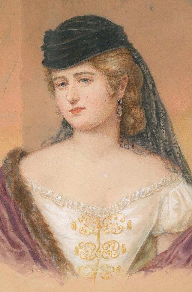 18世纪欧洲宫廷贵妇人物绘画作品欣赏 哈哈哈 第11张