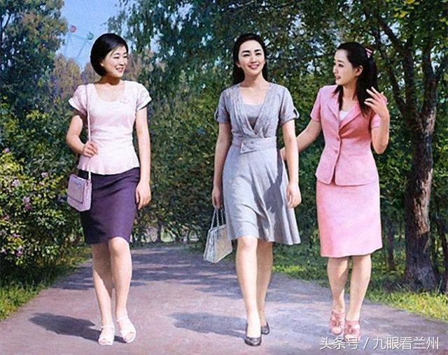 朝鲜画家李成旭的油画作品,色泽明丽,清新自然,朴实无图片