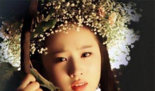 带花环最美的4大孙俪美女:美女唯美,热巴颜值雨尤果网潞古装图片