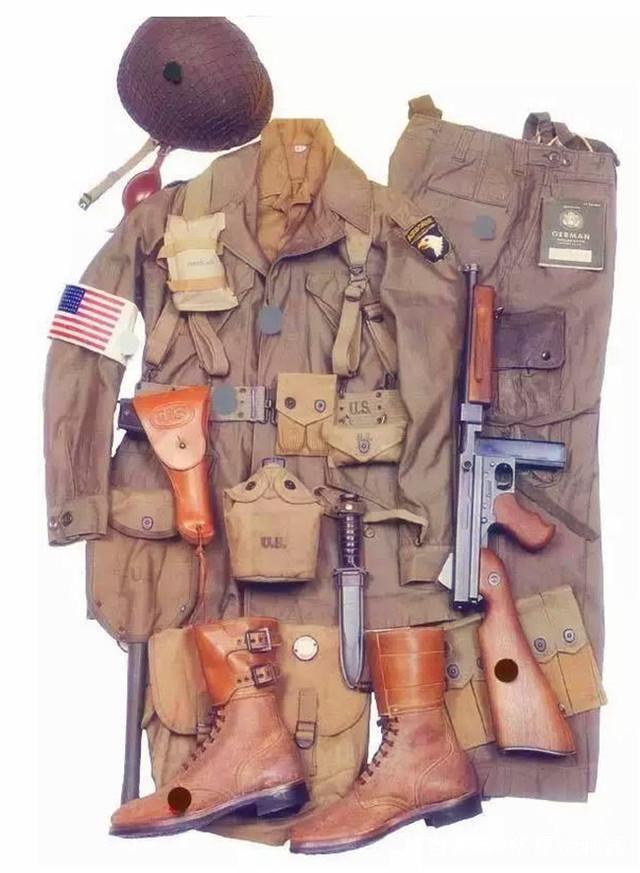 美军装备_美军空降师单兵基本装备.