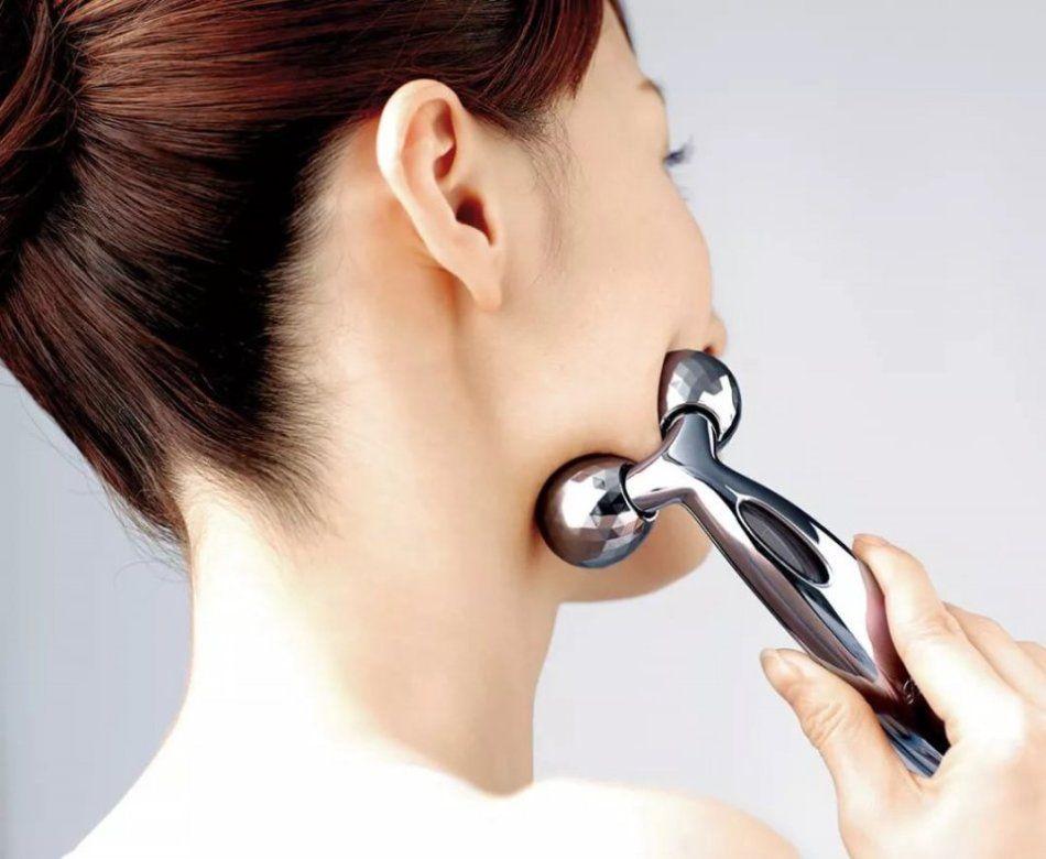 一个下巴就动作、消双步骤,瘦脸拿去!f60-30gq2使用方法教程图片