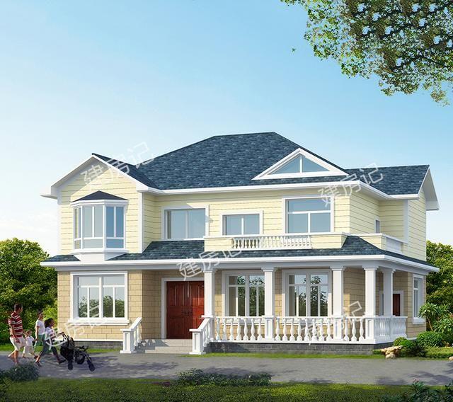 欧式田园风格农村别墅,不只国外建造,我们也喜欢