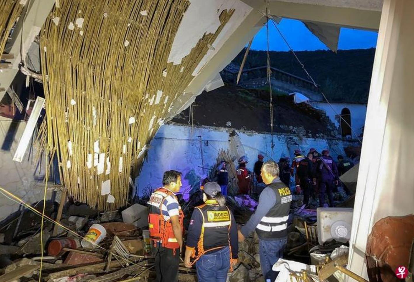 秘鲁南部发生洪灾和山体滑坡 致10人死亡1800人伤