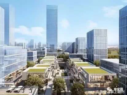 信丰高铁新区规划图