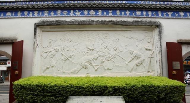 福州林则徐纪念馆,馆内有许多文物与雕像,展现民族英雄生平事迹