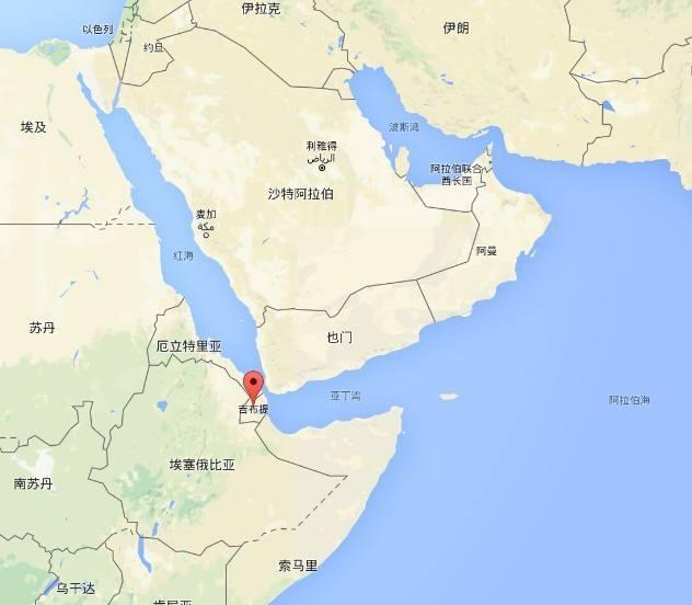 """北接苏伊士运河,南联印度洋,对望阿拉伯半岛,处于中国""""21世纪海上丝绸"""