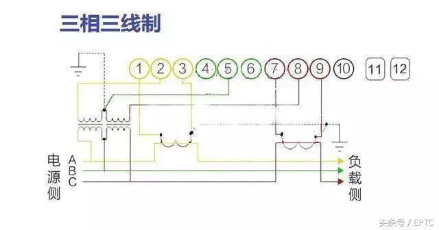 电工常用电表接线图大全,初级电工福利