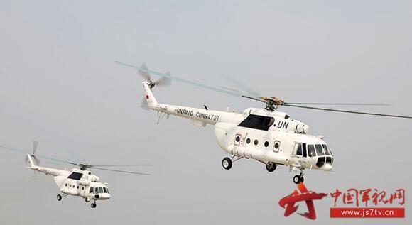 中国赴达尔富尔维和直升机分队通过联非达团军事能力评估