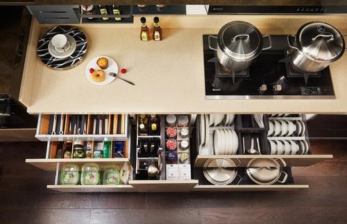 欧派橱柜功能厨房 人性化设计暗藏爱意-家居窝
