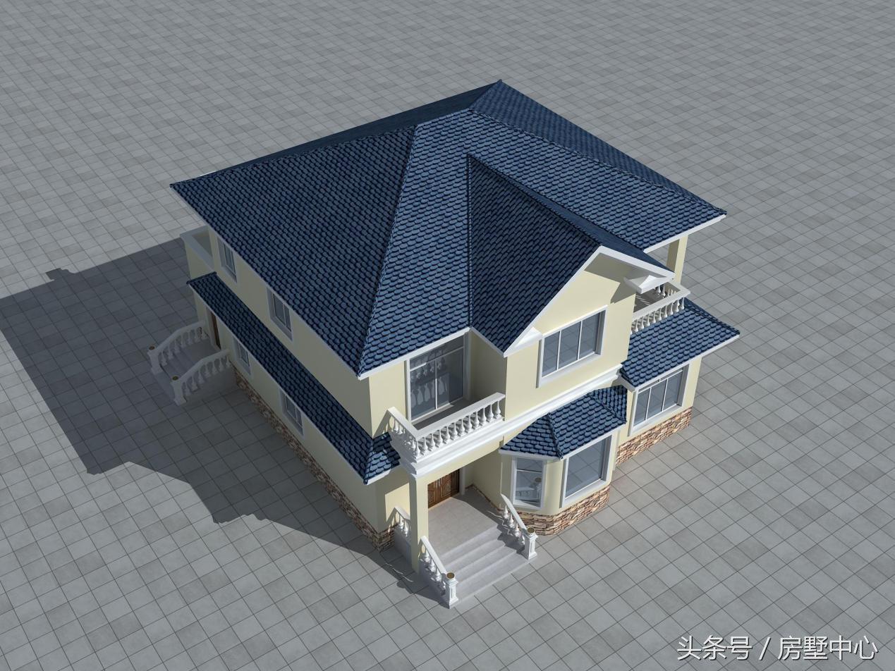 自建别墅设计:120平带柴火房的别墅设计,特别适合田园