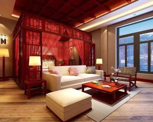 贵气天成!红木卧室装修实景100例