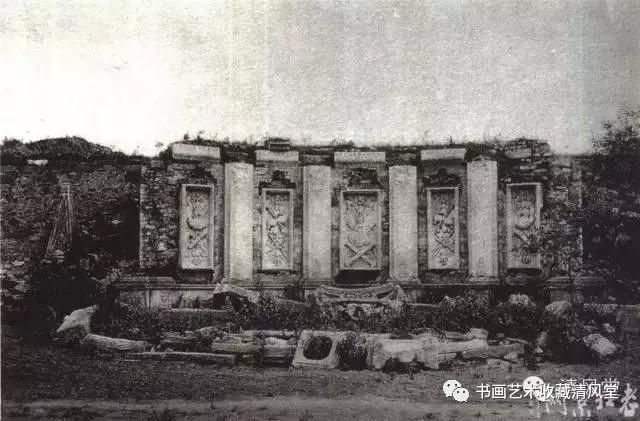 故宫流出的老照片 风雨中的皇宫和圆明园