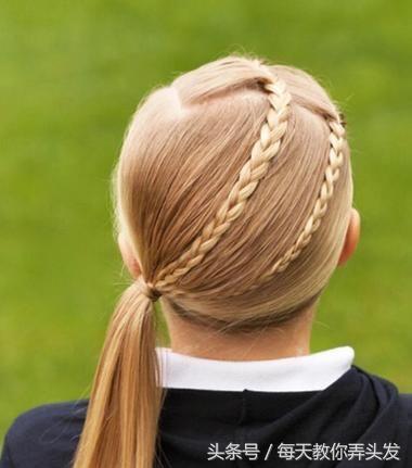 16款小女孩好看的丸子编发图片,美美的迎接辫子的到来双节日头发型迪丽热巴图片