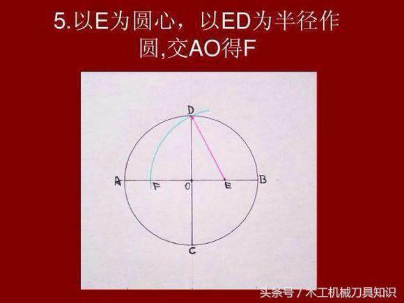五边形和五角星以及六边形的画法 找到可以用圆规和直尺画多边形的