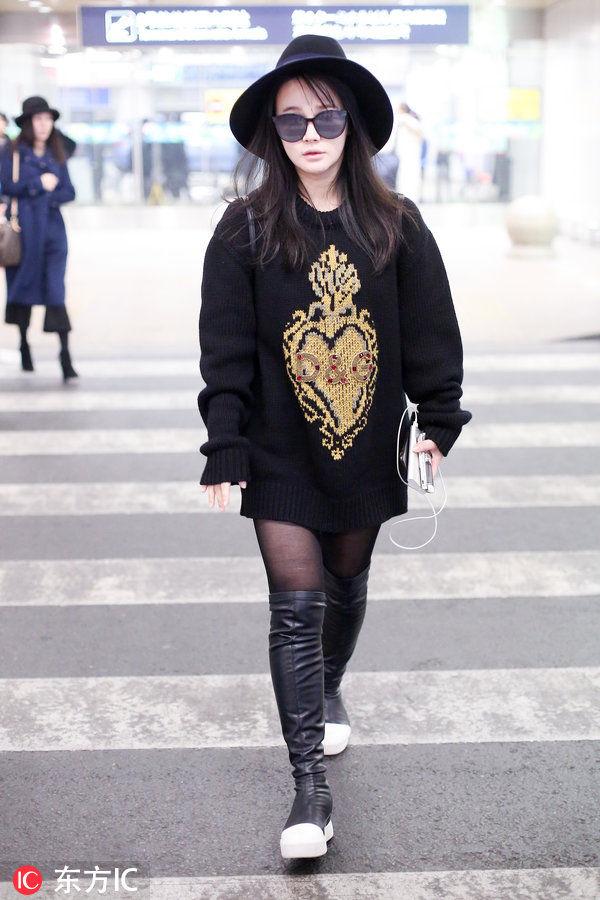 冉莹颖女人视频搭配长筒靴真是性感魅惑丝袜大全性感黑色健美操图片