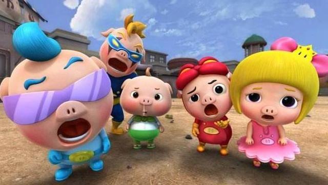 第三,猪猪侠 猪猪侠是国内原创的3d动画系列,2005年上映,它不仅出了