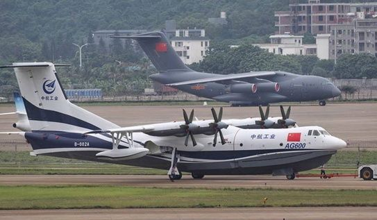 中国大飞机三剑客齐了:水上飞机滑行200米就飞了起来!