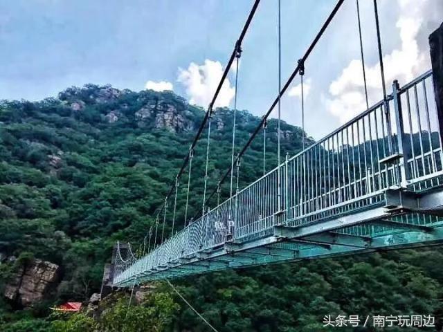 抖音高赞神器,高空玻璃吊桥~夏日清凉必去,龙