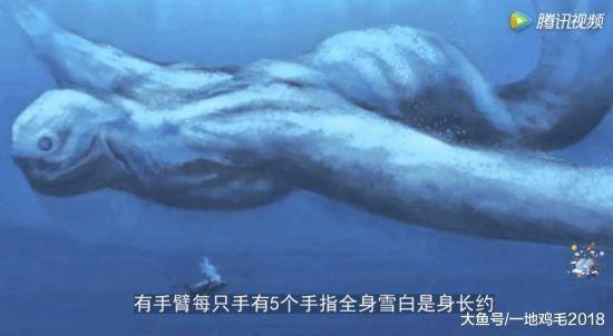 (奇妙世界)南极发现不明生物,似人似鱼可直立行走身高30米 - 宗令      峻岭 - 畅想曲