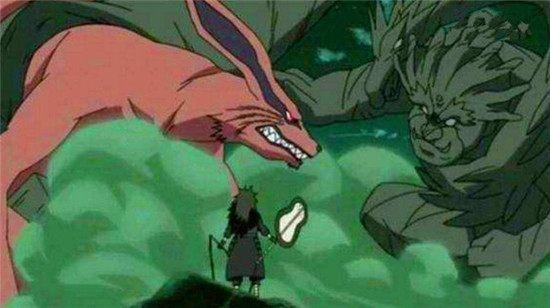 火影忍者 九尾妖狐也有害怕的人,看见这六个人就想跑图片