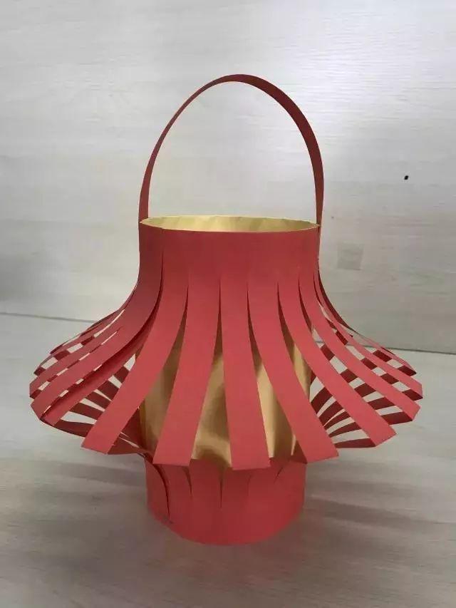 最简单的手工灯笼做法_简单手工小灯笼制作方法教程