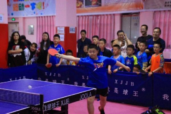 劲爆体育少儿杯乒乓球季度赛落幕网球王子真人版全集第3部图片