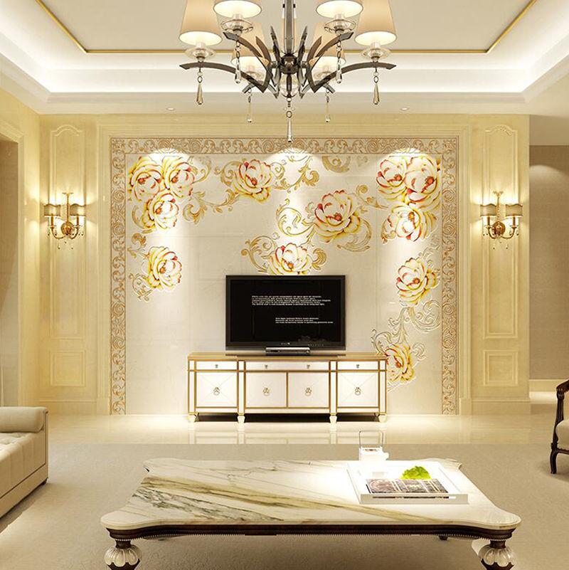 时尚简约高端大气上档次的简欧式罗马柱电视背景墙 装修首选