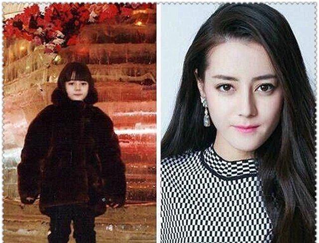<b>明星童年照,小时候VS长大,热巴从小美到大,看到她:换头了?</b>