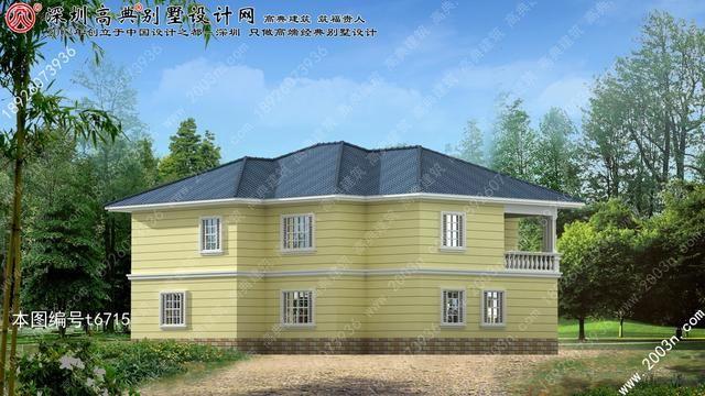 最新農村兩層小別墅設計圖更好看