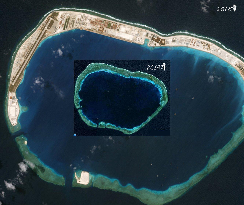 南沙七岛建设5周年,现在岛礁建设进度如何?