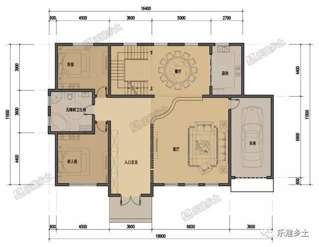 16X12米新中式古韵双层,a古韵悠扬,住宅婉约条光ae绘制图片