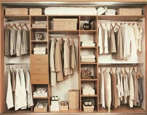 定制衣柜如何设计尺寸及功能分区?