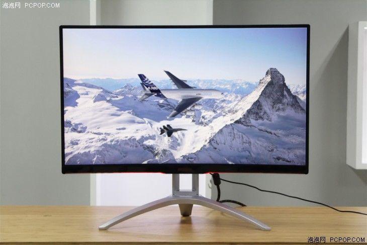 32寸曲屏电竞显示器 agon ag322qcx体验
