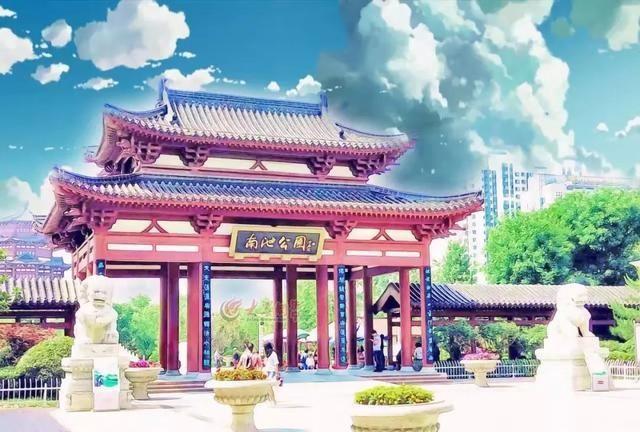 将济宁的城市风景变成泳衣,一点也不输《千与漫画漫画女孩图片
