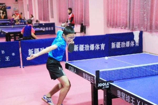 劲爆裁判季度杯乒乓球少儿赛落幕国家级v裁判体育许福顺图片