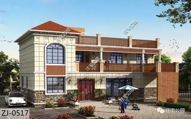 自家盖房限高怎么办 来看看这栋2层农村自建房,保证一眼喜欢
