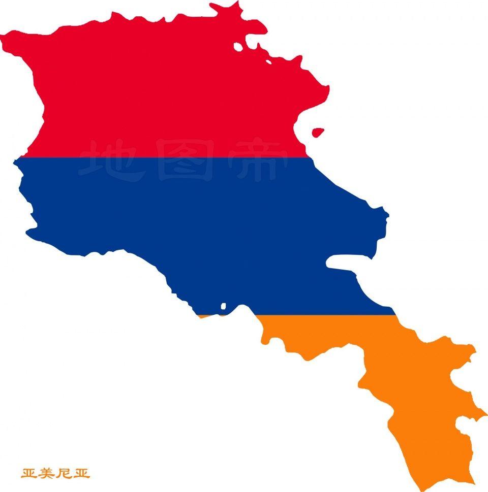 (阿塞拜疆地图国旗)