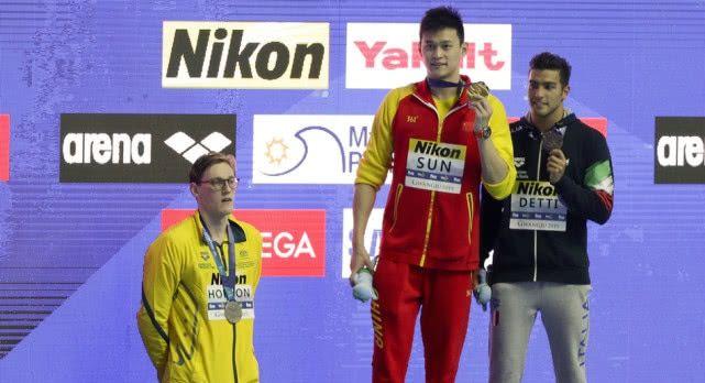 孙杨800米决赛获第六名无缘奖牌,事后无奈回应:人已经很累了