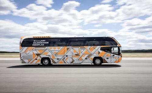 座椅都有4星级刷新您对豪华客车认知这些大巴即将亮相IAA