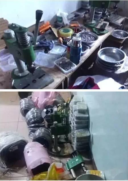 呼和浩特警方跨省端掉一制作销售图纸窝点,2人铅弹位置变形未标明缝图片