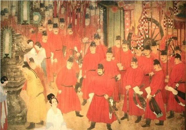 马嵬兵变杨贵妃死亡背后 唐玄宗李隆基和唐肃宗李亨父子之争