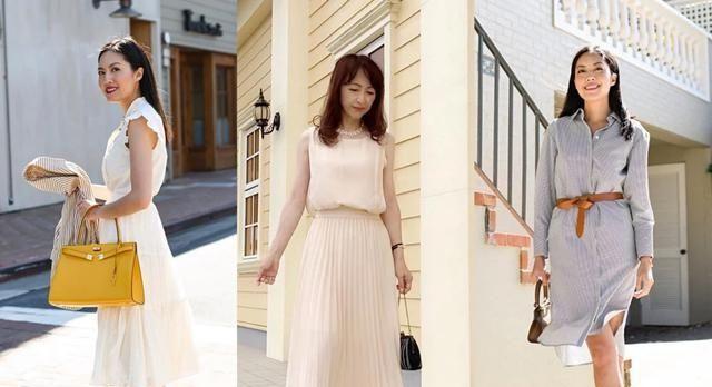 50岁左右的女人三伏天穿什么凉快时尚又得体?