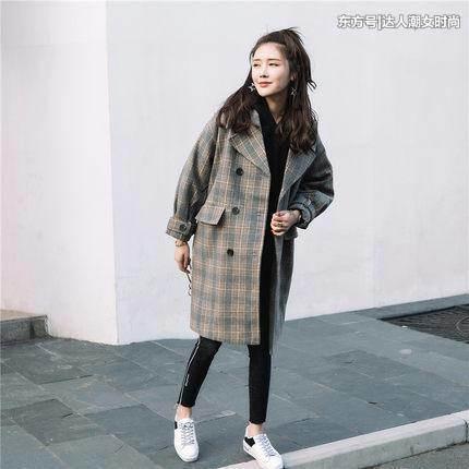 爱美达人网 好消息,格子大衣又流行回来了!穿着高级又时尚