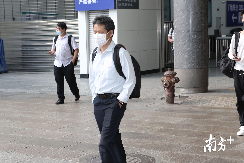 图集|假期最后一天,广州火车站迎返程旅客返程火车