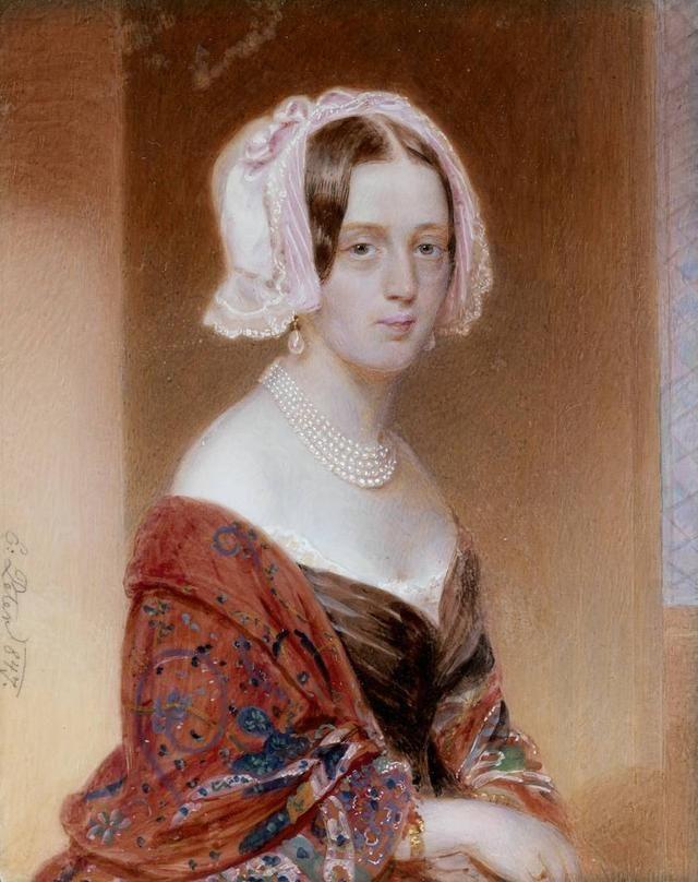 18世纪欧洲宫廷贵妇人物绘画作品欣赏 哈哈哈 第22张