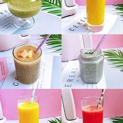 夏日必喝鲜榨果汁,自己在家dly,营养健康不重样