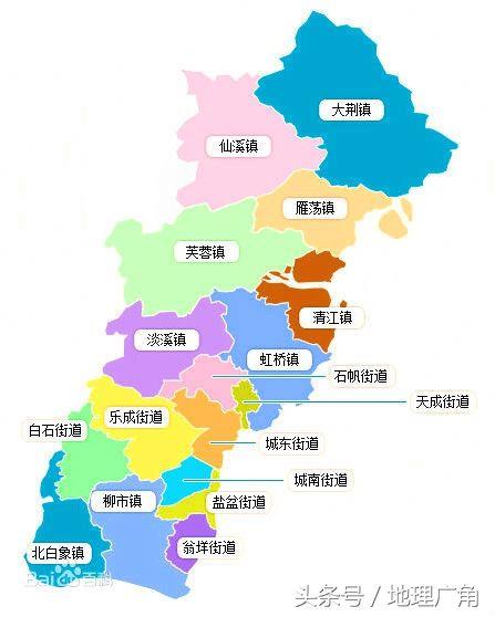 温州市行政区域划分地图