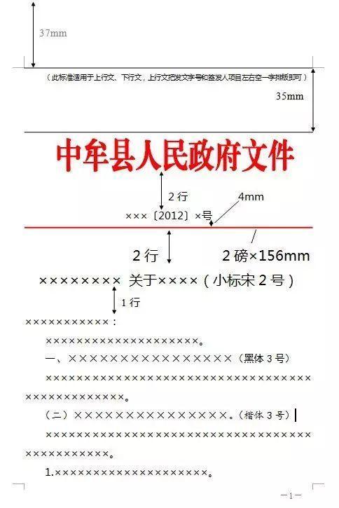 【微学习】最标准公文格式,一图搞定(建议收藏
