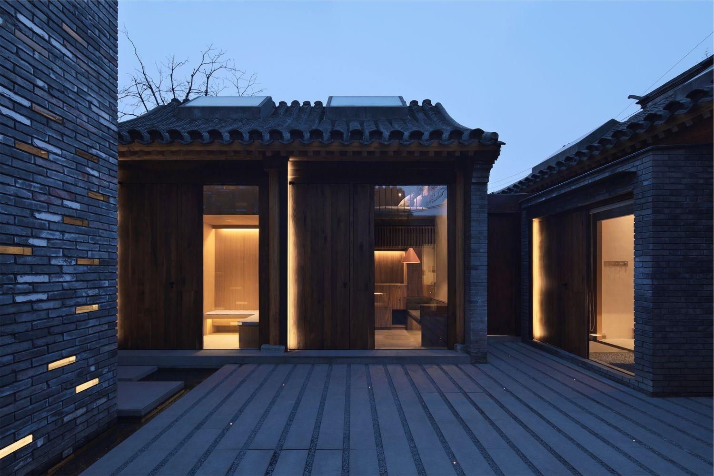 北京白塔寺胡同四合院变身惊艳民宿!设计让传统民居适应现代生活